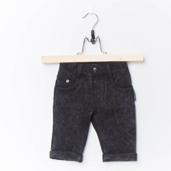 LUCKY NO. 7 | JOG DENIM SHORTS