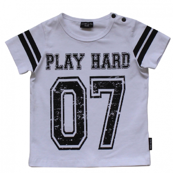 LUCKY NO. 7 PLAY HARD TSHIRT