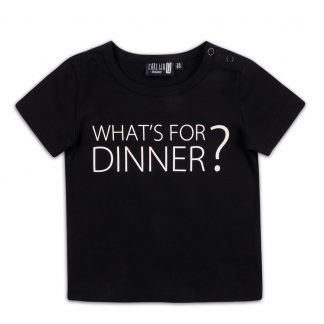 CARLIJNQ | T-SHIRT WHAT'S FOR DINNER