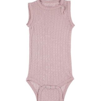 MINIPOP BODY DUSTY ROSE | BODYSTOCKING S/S