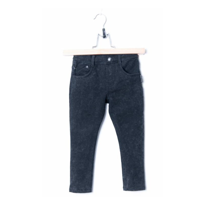 LUCKY NO. 7 | BLACK DENIM JOG PANTS
