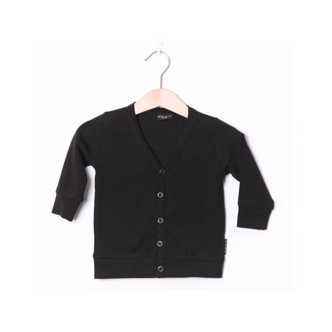 LUCKY NO. 7 | BLACK CARDIGAN