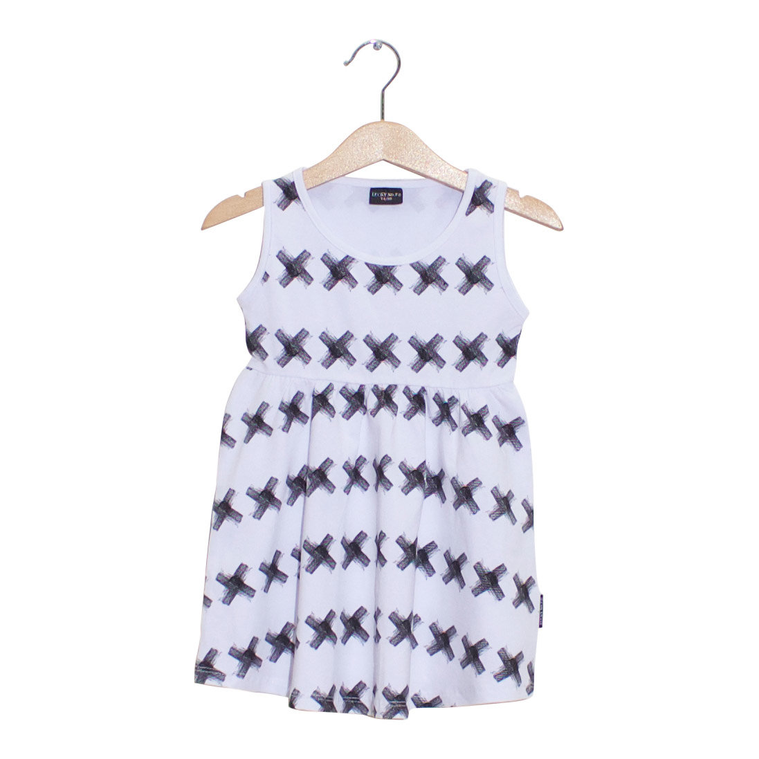 LUCKY NO. 7 | KRISS KROSS DRESS