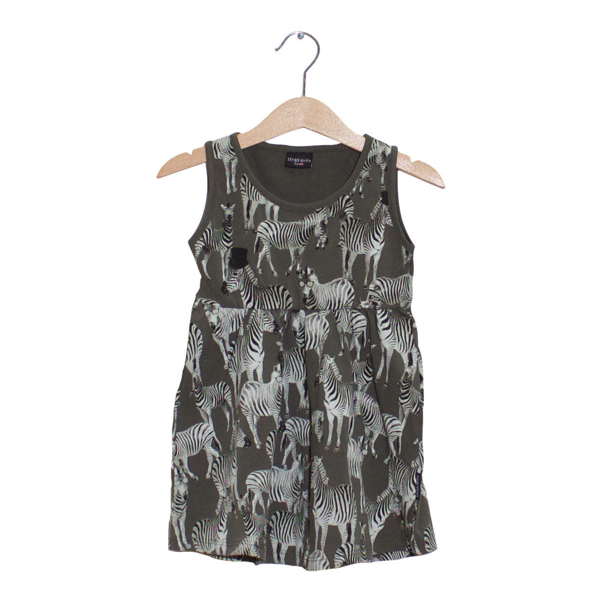 LUCKY NO. 7 | ZEBRA DRESS