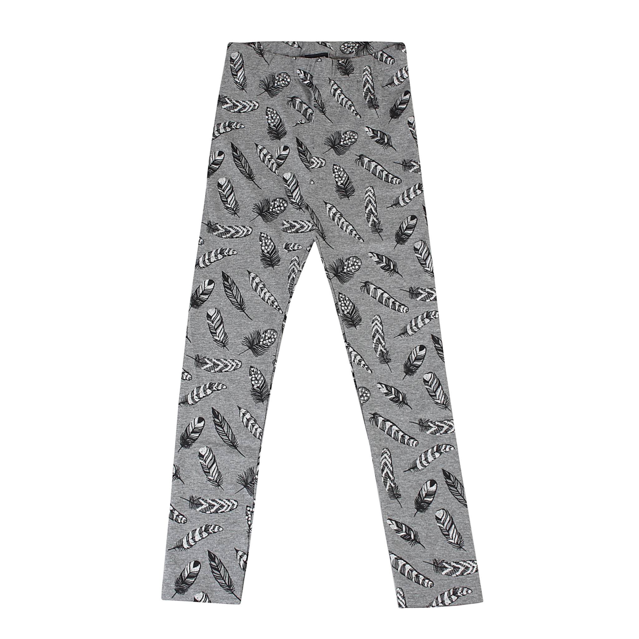 KIDS-UP | LEGGINGS MED SØLV PRINT