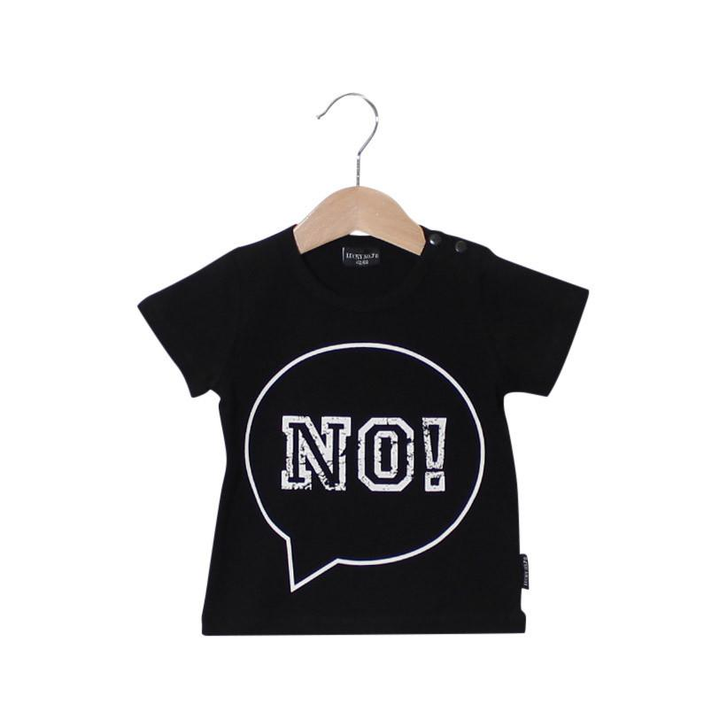 LUCKY NO. 7 | T-SHIRT NO-TEE, SORT