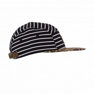 BEAU HUDSON | STRIPES ON LEOPARD CAP - KASKET