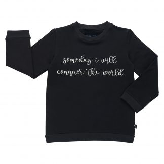 CARLIJNQ | SWEATER - KNIGHTY TEXT