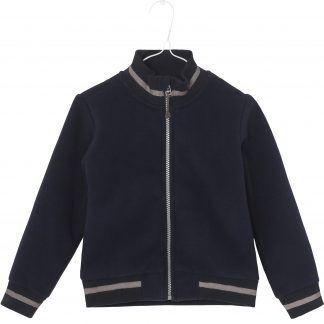 MINI A TURE | ADEL FLEECE JAKKE - SKY CAPTAIN BLUE
