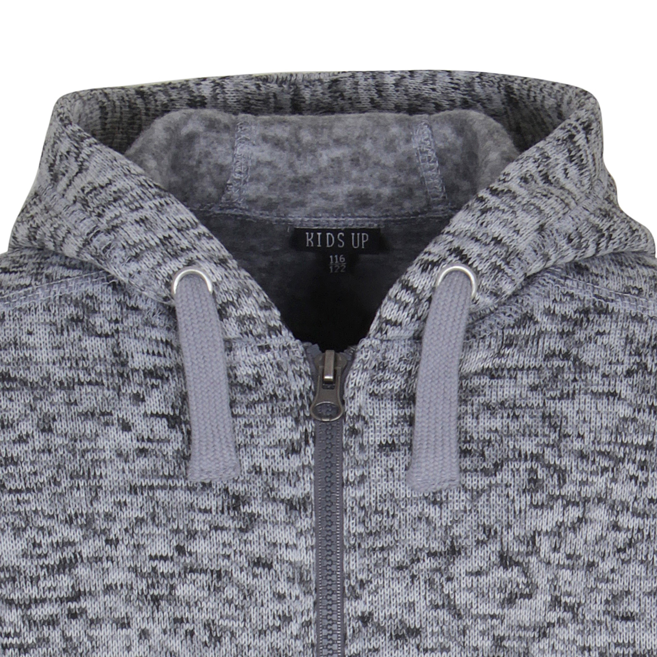 KIDS-UP | SWEAT CARDIGAN GRÅ