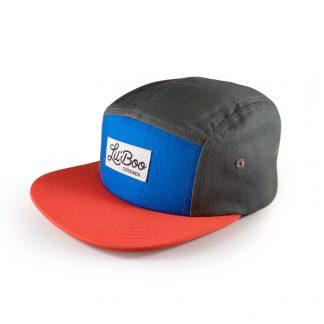 LIL'BOO | BLOCK 5 CAP, RØD