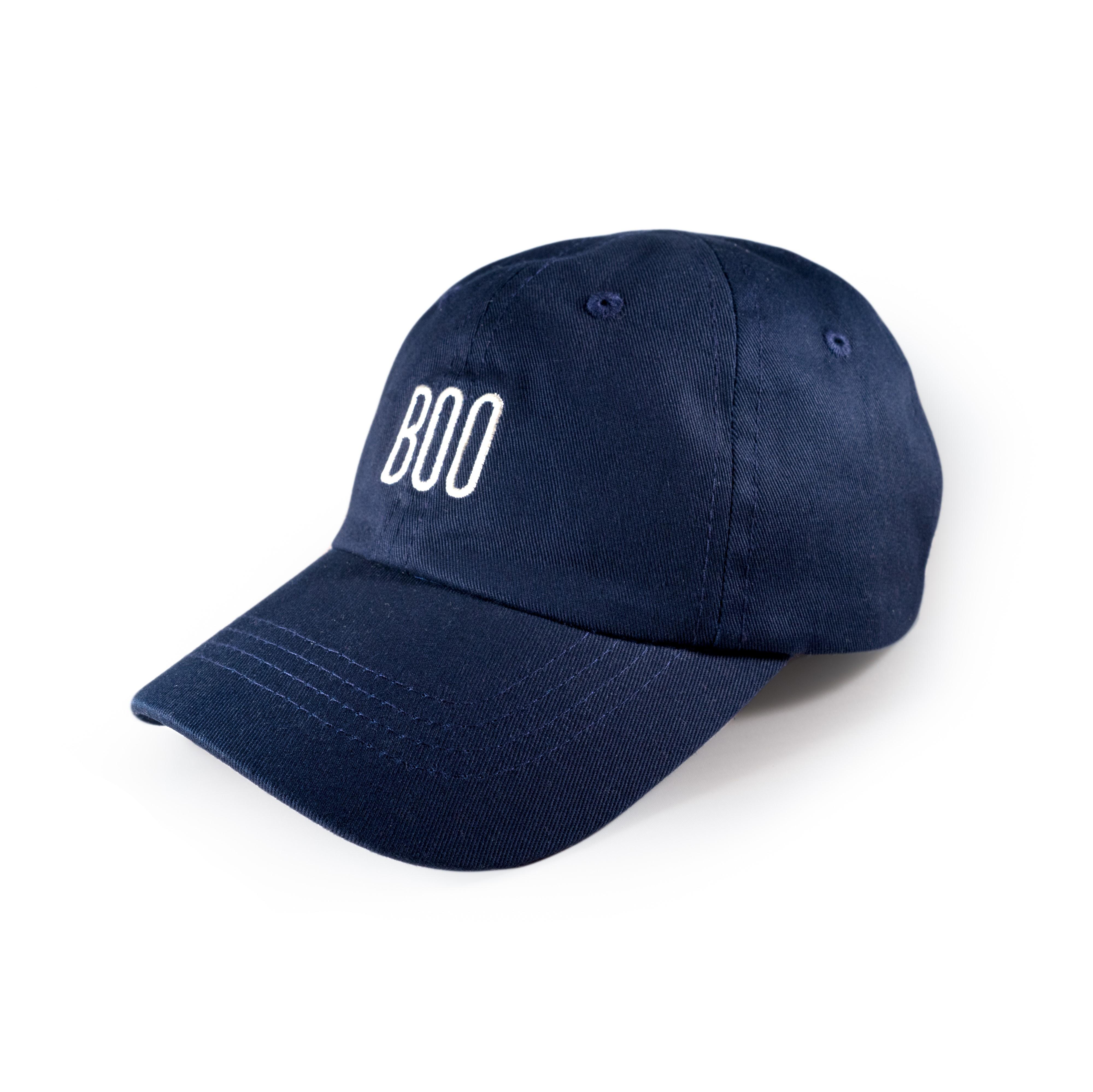 LIL'BOO   BOO BASEBALL CAP, NAVY