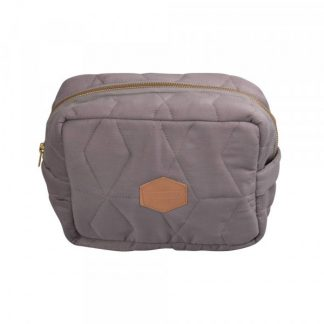 FILIBABBA | TOILETBAG SOFT QUILT - GREY