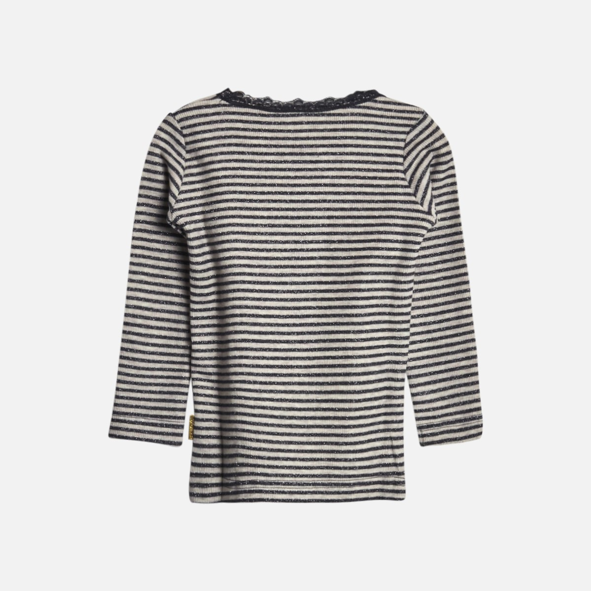 HUST AND CLAIRE | ALANIS T-SHIRT L/S, DARK GREY