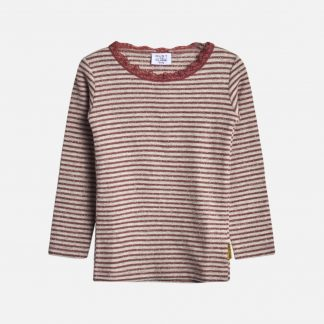 HUST AND CLAIRE | ALANIS T-SHIRT L/S, ROSEWOOD