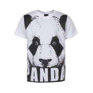 KIDS UP | KLEIN PANDA T-SHIRT - HVID