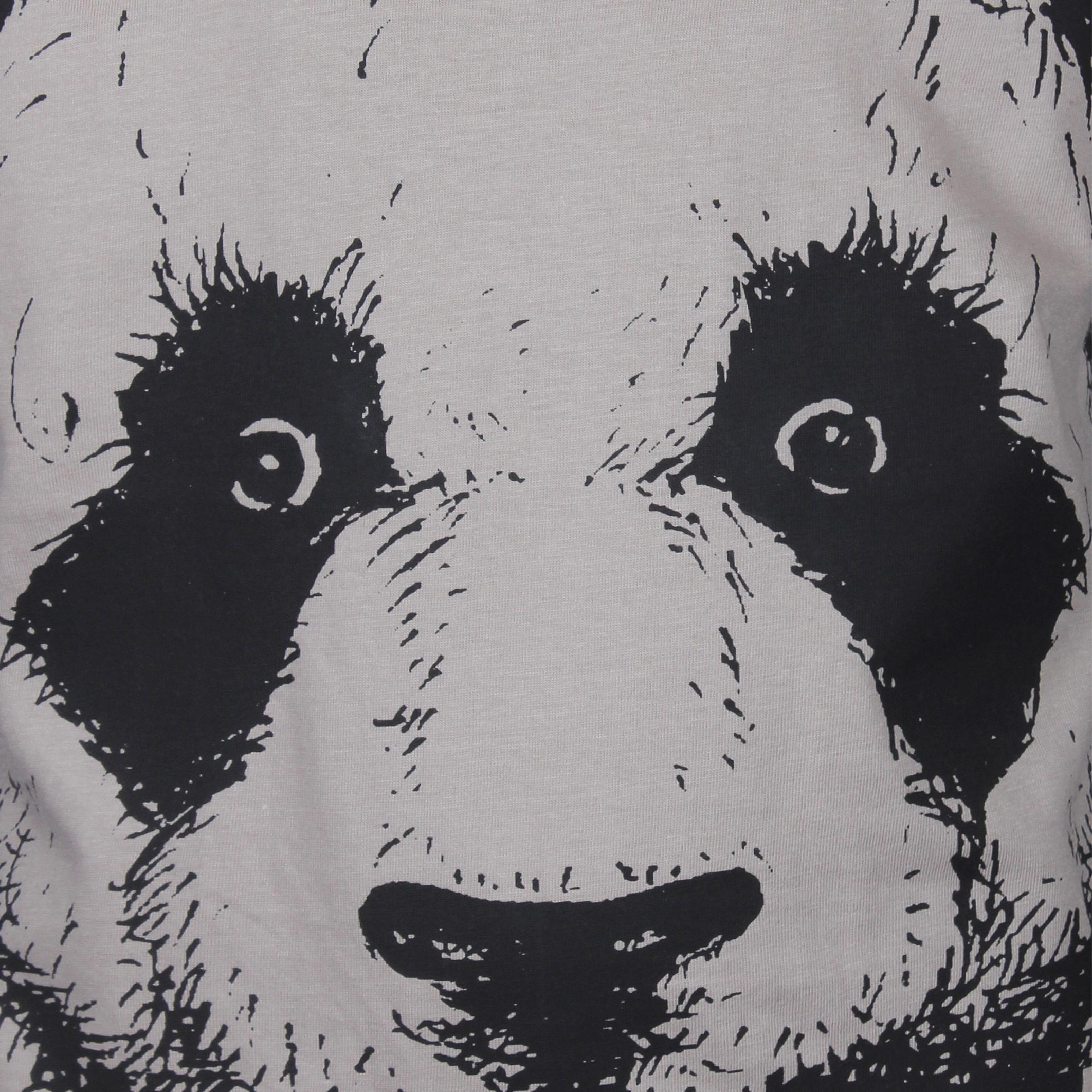 KIDS UP | KLEIN PANDA T-SHIRT - NOUGAT