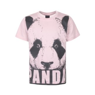 KIDS UP | KLEIN PANDA T-SHIRT - ROSA