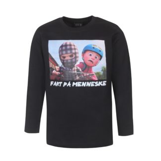 KIDS UP | TERNET NINJA T-SHIRT L/S - SORT