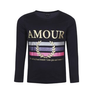 KIDS UP | AMOUR T-SHIRT L/S - NAVY