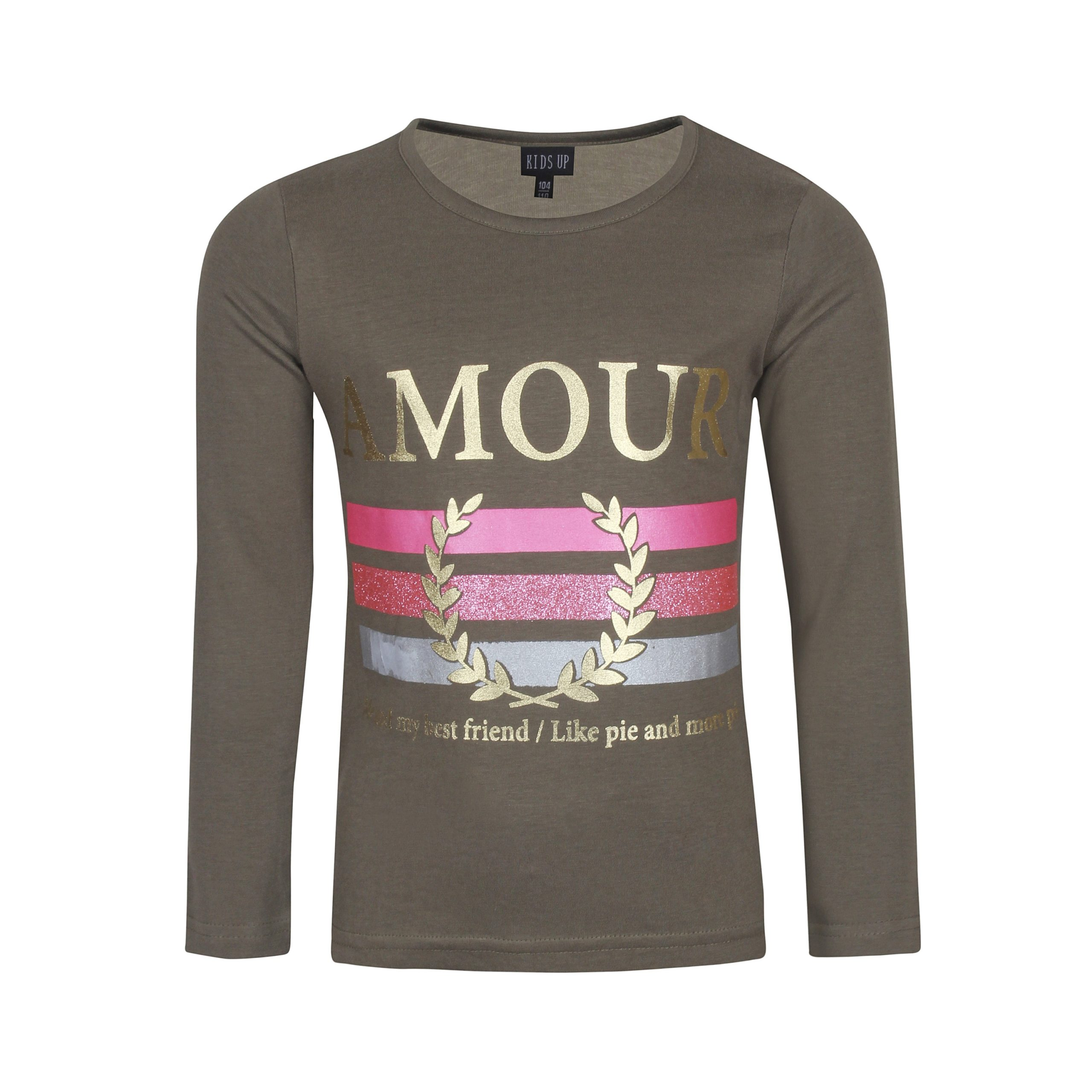 KIDS UP | AMOUR T-SHIRT L/S - ARMY
