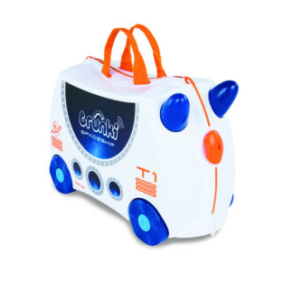 TRUNKI | BØRNEKUFFERT - SKYE THE SPACESHIP