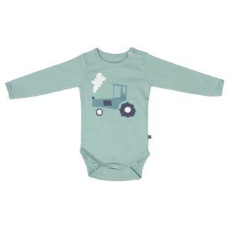 KIDS UP BABY   TRAKTOR BODY - GRØN