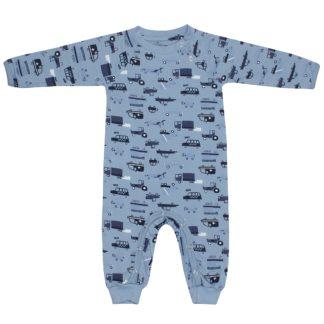 KIDS UP BABY | HELDRAGT MED BILER - BLÅ