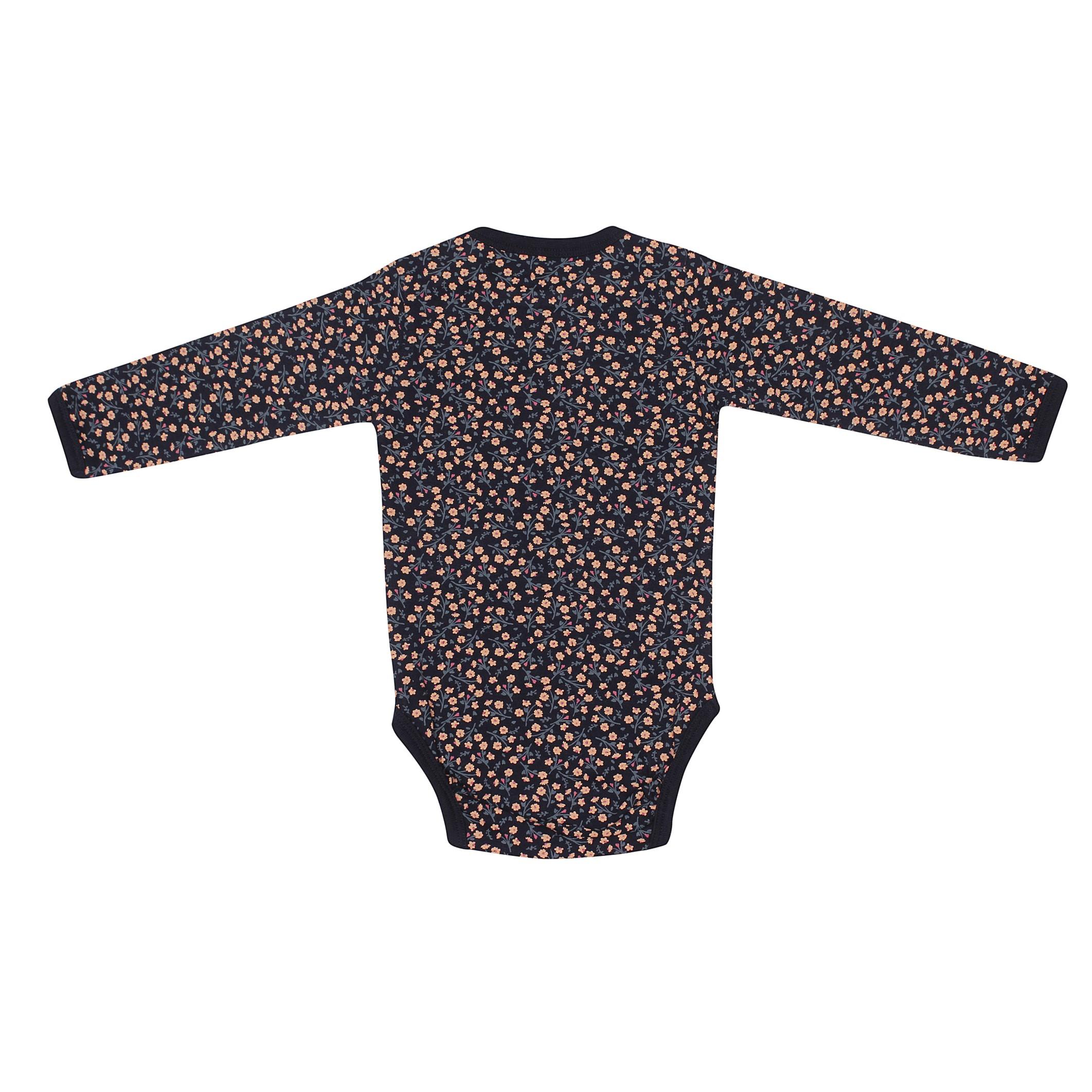KIDS UP BABY | BODY MED BLOMSTER - NAVY
